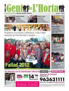 NÚMERO DE MARZO 2012