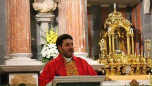 Primer aniversario del párroco de Sant Jaume