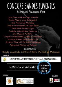 Concurso de Bandas Juveniles – Memorial Francisco Fort