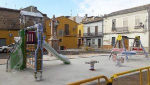 Nueva zona infantil en Benifaraig