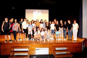 Fiesta de fin de curso de los alumnos de 1º 2º y 3º de ESO del Colegio Sant Jaume