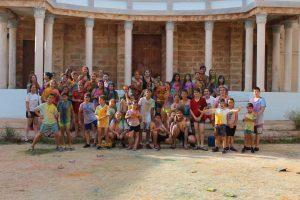 Los Juniors M.D San Jaime Apóstol celebran su fin de curso con  fiesta del agua y merienda