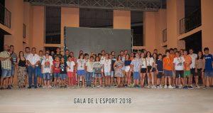 300 persones asistixen a la XVIII Gala de L´Esport que s´ha celebrat a Vinalesa