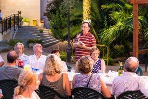 Rocafort celebra la I Nit Machadiana en los jardines de la Casa de Cultura