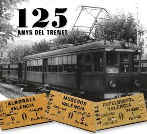 Alboraia, Museros i Rafelbunyol celebren el 125 aniversari del «Trenet» amb una mostra