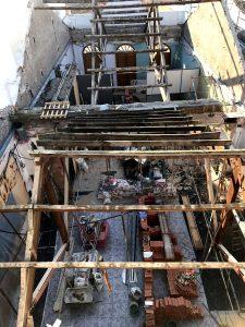 La Sociedad Musical de Alboraya sustituye la cubierta de su edificio para acabar con las goteras y conseguir mejor acústica