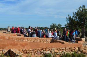 La II Jornada de Puertas Abiertas del poblado íbero del Tòs Pelat constituye un éxito de participación