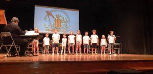 Unió Musical de Moncada ha realitzat una audició de fi de curs com a homenatge a les iaies i aios