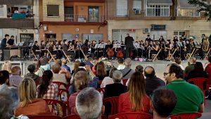 El Conservatorio Ciutat de Moncada celebra el acto de clausura de curso con la actuación de alumnos y profesores