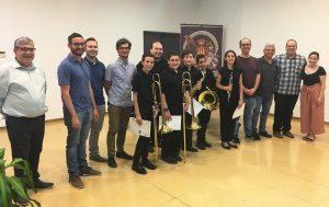 Alejandro Poveda gana la VII edición del premio José Miguel Sánchez organizado por Unión Musical de Moncada