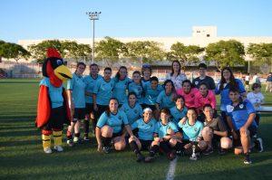 Éxito de participación en el torneo de fútbol femenino organizado por el Club Fenix Moncada