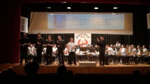 La Societat Musical de Massalfassar realitza un concert junt a la colla de tabal i dolçaina El Xarquet