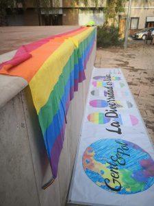 Una batukada per la diversitat  conmemora en Moncada el Día de L´Orgull Gay