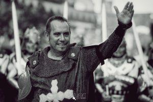 Obturart plasma en imágenes el imponente desfile de Cavallers I Dames Templaris en Moncada