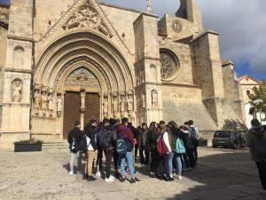 1º de Bachillerato de Colegio Sant Jaume de Moncada visita Morella