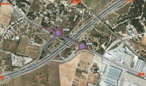La Diputació construirà 2 rotondes en la connexió de la CV-370 del Polígon La Cova de Manises al By-Pass