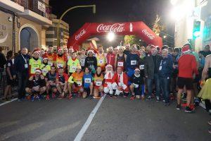 1850 corredores y 450 niños participan en la San Silvestre de Rocafort con la donación de 6000 Kg de alimentos