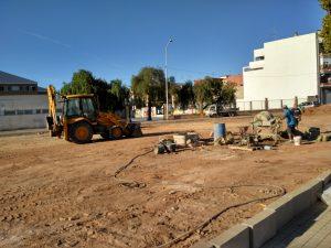 Alfara del Patriarca inicia la construcció d'un aparcament públic aprovat pels ciutadans dins dels Pressupostos Participatius