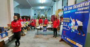 Atletismo Rocafort Runnig recoge 3500 kilos de comida y productos en la XX San Silvestre virtual