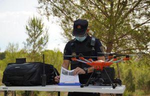 Paterna vigila con drones el término municipal para el cumplimiento de su cierre perimetral